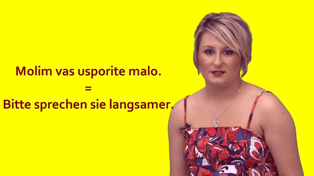Flirten kroatisch